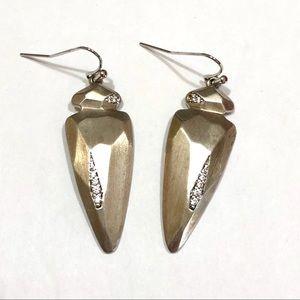 Kendra Scott Silver Stephanie Earrings